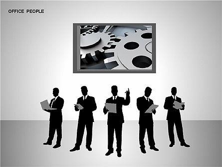 Business Shapes, Slide 6, 00168, Shapes — PoweredTemplate.com