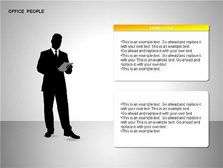Business Shapes, Slide 7, 00168, Shapes — PoweredTemplate.com