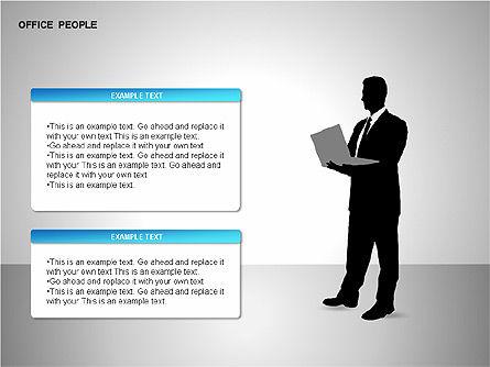 Business Shapes, Slide 8, 00168, Shapes — PoweredTemplate.com