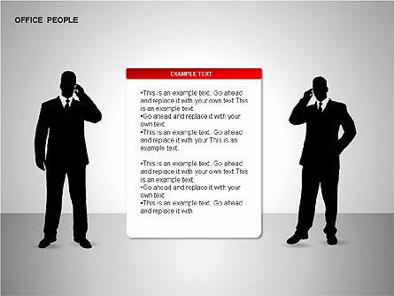 Business Shapes, Slide 9, 00168, Shapes — PoweredTemplate.com