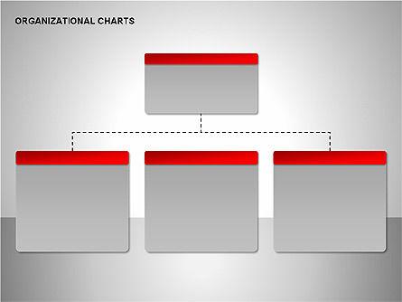 Organizational Charts Collection, Slide 2, 00169, Organizational Charts — PoweredTemplate.com