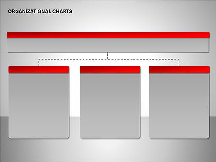 Organizational Charts Collection, Slide 3, 00169, Organizational Charts — PoweredTemplate.com