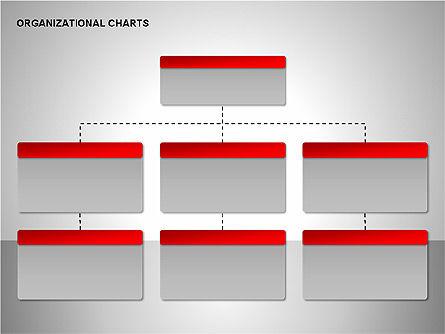 Organizational Charts Collection, Slide 4, 00169, Organizational Charts — PoweredTemplate.com