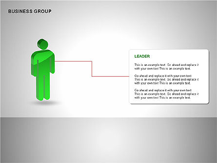 Business Group Diagrams Collection, Slide 4, 00173, Business Models — PoweredTemplate.com