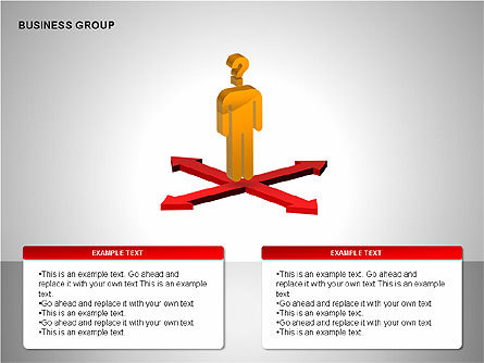 Business Group Diagrams Collection, Slide 6, 00173, Business Models — PoweredTemplate.com