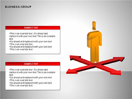 Business Group Diagrams Collection, Slide 9, 00173, Business Models — PoweredTemplate.com