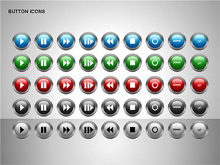 Icons: Buttons Collection #00174