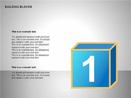 Building Blocks Collection, Slide 10, 00176, Shapes — PoweredTemplate.com