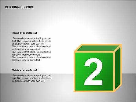 Building Blocks Collection, Slide 11, 00176, Shapes — PoweredTemplate.com
