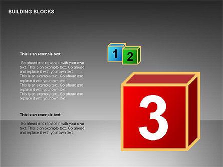 Building Blocks Collection, Slide 12, 00176, Shapes — PoweredTemplate.com