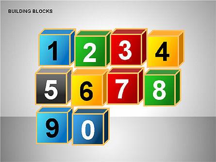 Building Blocks Collection, Slide 14, 00176, Shapes — PoweredTemplate.com