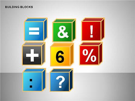 Building Blocks Collection, Slide 15, 00176, Shapes — PoweredTemplate.com