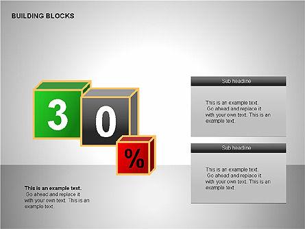 Building Blocks Collection, Slide 7, 00176, Shapes — PoweredTemplate.com