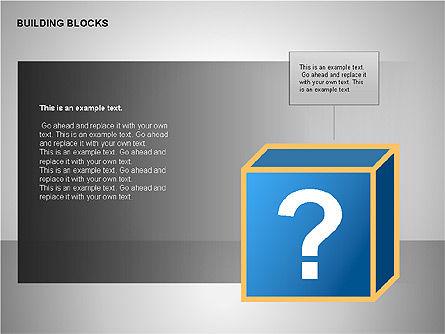 Building Blocks Collection, Slide 8, 00176, Shapes — PoweredTemplate.com