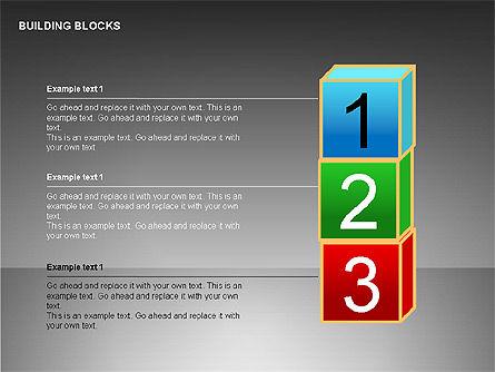 Building Blocks Collection, Slide 9, 00176, Shapes — PoweredTemplate.com