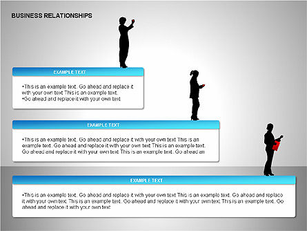 Business Relationships, Slide 10, 00179, Organizational Charts — PoweredTemplate.com