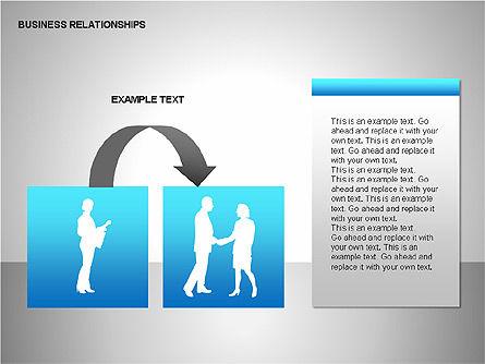 Business Relationships, Slide 12, 00179, Organizational Charts — PoweredTemplate.com
