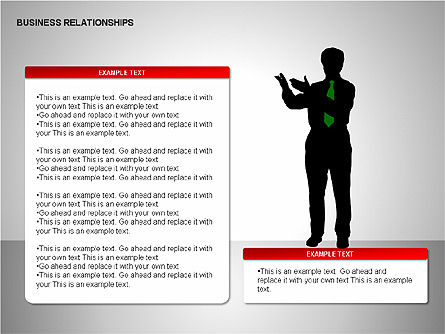Business Relationships, Slide 13, 00179, Organizational Charts — PoweredTemplate.com