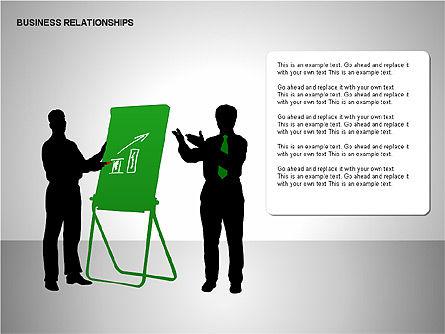 Business Relationships, Slide 15, 00179, Organizational Charts — PoweredTemplate.com