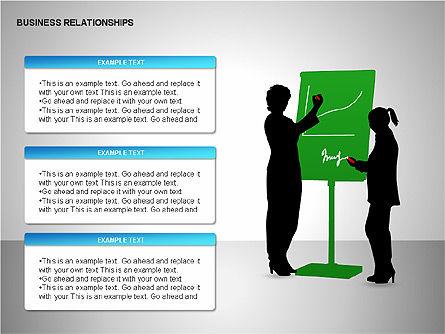 Business Relationships, Slide 5, 00179, Organizational Charts — PoweredTemplate.com