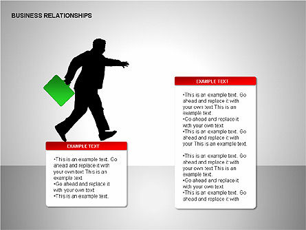Business Relationships, Slide 6, 00179, Organizational Charts — PoweredTemplate.com