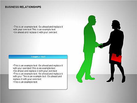 Business Relationships, Slide 7, 00179, Organizational Charts — PoweredTemplate.com