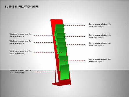 Business Relationships, Slide 9, 00179, Organizational Charts — PoweredTemplate.com