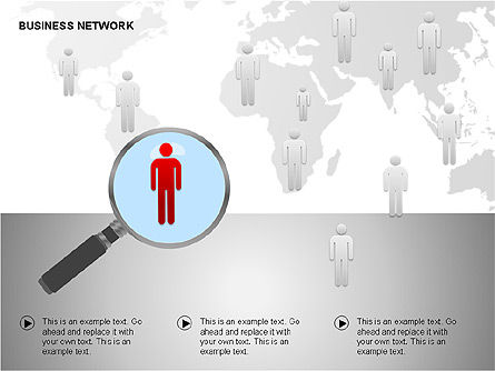 Business Networking Diagrams, Slide 15, 00184, Business Models — PoweredTemplate.com