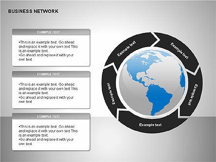 Business Networking Diagrams, Slide 16, 00184, Business Models — PoweredTemplate.com