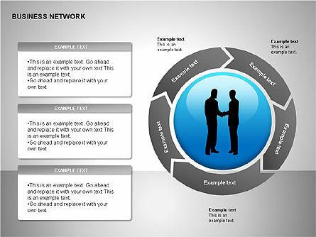 Business Networking Diagrams, Slide 17, 00184, Business Models — PoweredTemplate.com