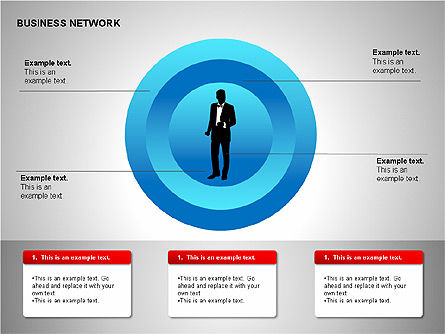 Business Networking Diagrams, Slide 18, 00184, Business Models — PoweredTemplate.com