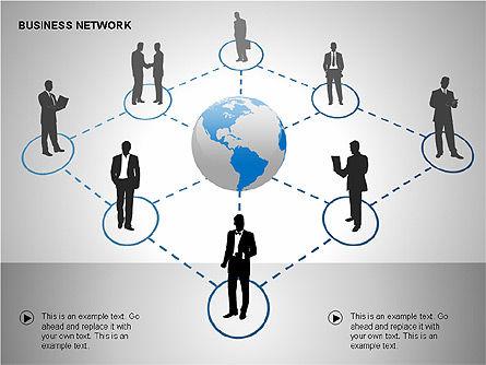 Business Networking Diagrams, Slide 5, 00184, Business Models — PoweredTemplate.com