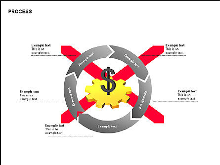 Free Process Gears Diagrams, Slide 11, 00189, Process Diagrams — PoweredTemplate.com