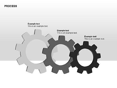 Free Process Gears Diagrams, Slide 12, 00189, Process Diagrams — PoweredTemplate.com