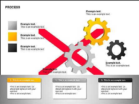 Free Process Gears Diagrams, Slide 14, 00189, Process Diagrams — PoweredTemplate.com