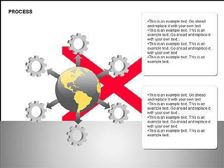 Free Process Gears Diagrams, Slide 15, 00189, Process Diagrams — PoweredTemplate.com