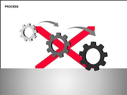 Free Process Gears Diagrams, Slide 7, 00189, Process Diagrams — PoweredTemplate.com