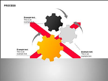 Free Process Gears Diagrams, Slide 9, 00189, Process Diagrams — PoweredTemplate.com