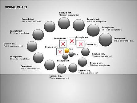 Spiral Tornado Chart Collection, Slide 12, 00190, Process Diagrams — PoweredTemplate.com