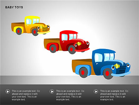 Baby Toys Shapes, Slide 10, 00195, Shapes — PoweredTemplate.com