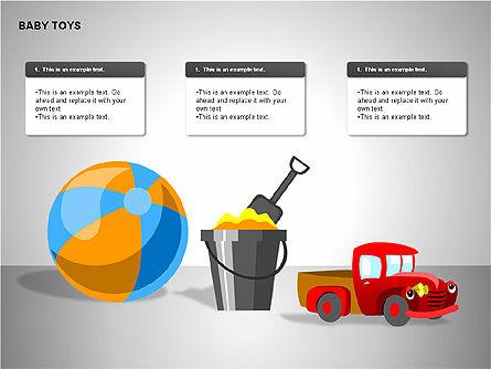 Baby Toys Shapes, Slide 12, 00195, Shapes — PoweredTemplate.com