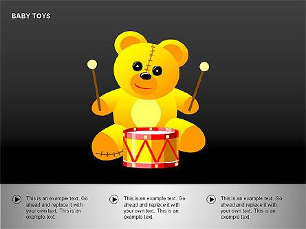 Baby Toys Shapes, Slide 13, 00195, Shapes — PoweredTemplate.com