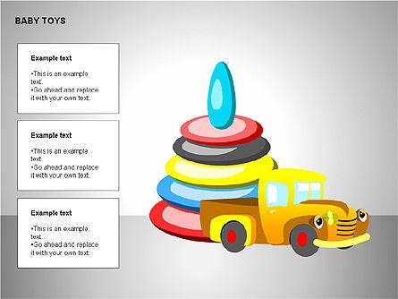 Baby Toys Shapes, Slide 14, 00195, Shapes — PoweredTemplate.com