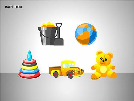 Baby Toys Shapes, Slide 15, 00195, Shapes — PoweredTemplate.com