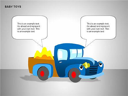 Baby Toys Shapes, Slide 5, 00195, Shapes — PoweredTemplate.com