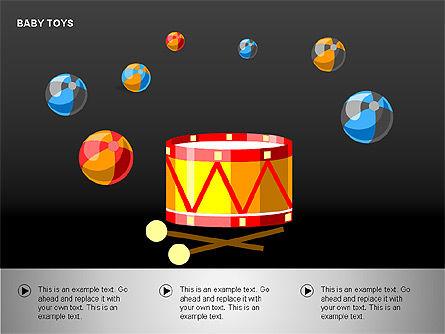 Baby Toys Shapes, Slide 9, 00195, Shapes — PoweredTemplate.com