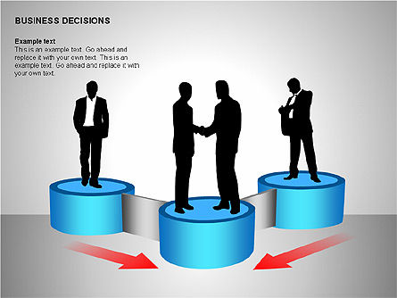 Business Decisions Diagrams, Slide 10, 00197, Business Models — PoweredTemplate.com