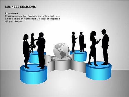 Business Decisions Diagrams, Slide 11, 00197, Business Models — PoweredTemplate.com