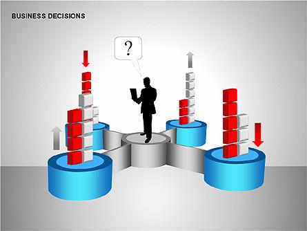 Business Decisions Diagrams, Slide 12, 00197, Business Models — PoweredTemplate.com