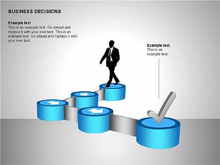 Business Decisions Diagrams, Slide 13, 00197, Business Models — PoweredTemplate.com